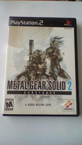 Game Seminovo Metal Gear Solid 2 Playstation 2 Ps2 Original