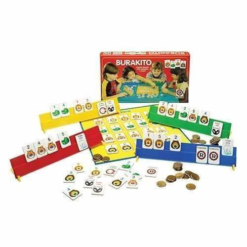 Juego De Mesa Burako Burakito Infantil Para Aprender A Jugar