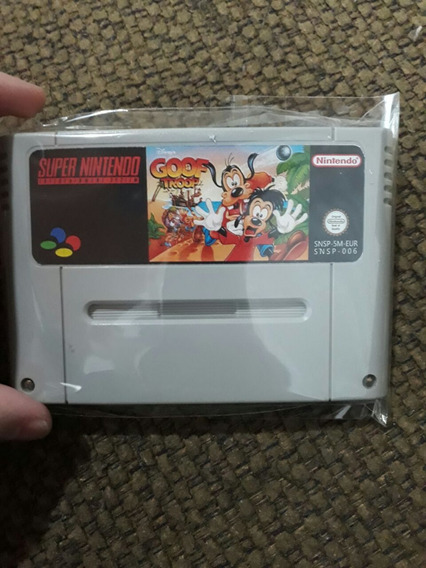 Fitas De Super Nintendo Goof Troop