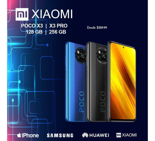 Xiaomi X3 Nfc $290 Mi 10t Pro $585 Note 9 Pro $280 Tcd