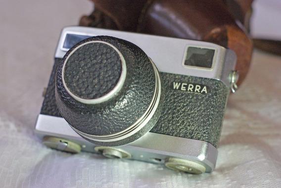 Câmera Fotográfica Analógica Da Marca Werra E Lente Tessar