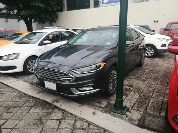 Como Nuevo Ford Fusion 2017 Luxury 4 Cilindros