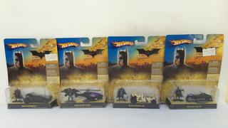 Lote De 4 Sets De Hot Wheels De Batman Nuevos Dc Batimóvil