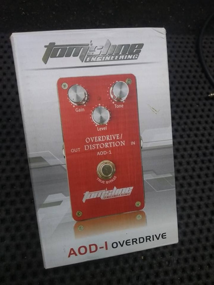 Pedal Tomsline Overdrive/distortion Aod-1