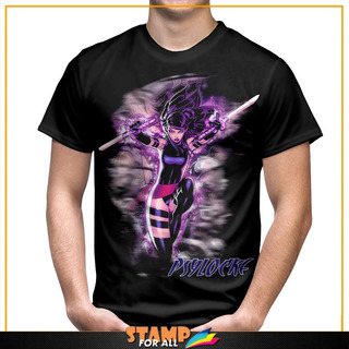 Camiseta Psylocke Marvel X- Men Personalizada Stamp For All