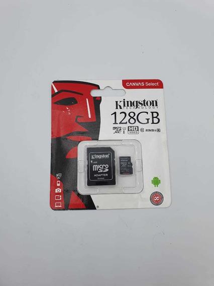 Cartão De Memória Kingston 128gb Original