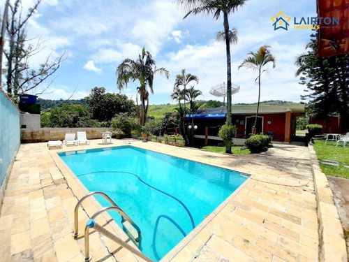 Chácara Com 4 Dormitórios À Venda, 2000 M² Por R$ 600.000,00 - Vitória Régia - Atibaia/sp - Ch0537