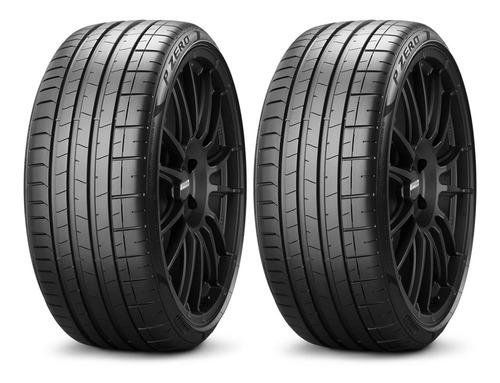 Imagen 1 de 5 de Kit X 2 Pirelli 235/45 R18 98y P Zero Neumabiz