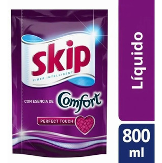 Jabon Liquido Skip Perfect Touch Confort Doypack 800ml