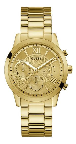 Relógio Feminino Guess Dourado 92686lpgdda2 - Nfe/original