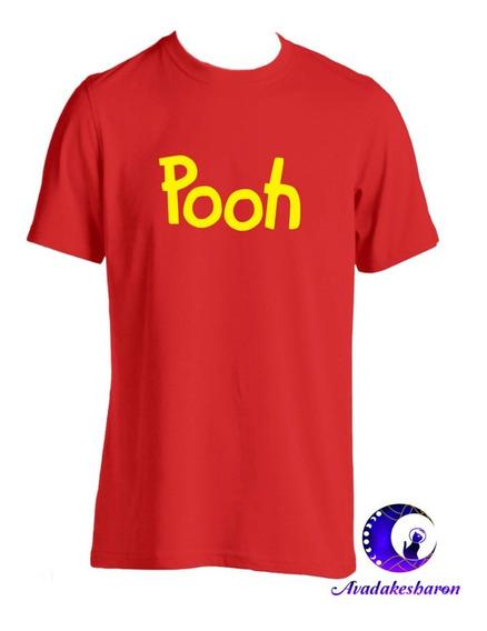 Camiseta Estampada De Winnie Pooh Para Parejas Y Amigos
