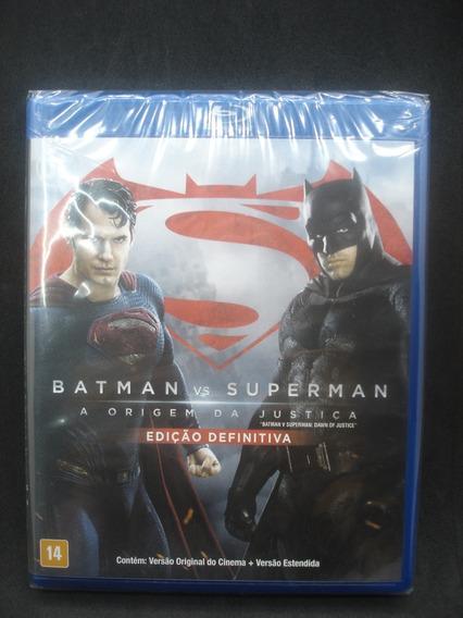 Blu-ray - Batman Vs Superman: A Origem Da Justiça - Original