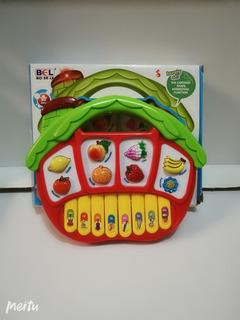 Piano De Frutas Para Bebe / Arcoiris