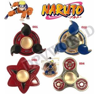 Fidget Spinner Naruto Sharingan Acero Inoxidable Antiestres