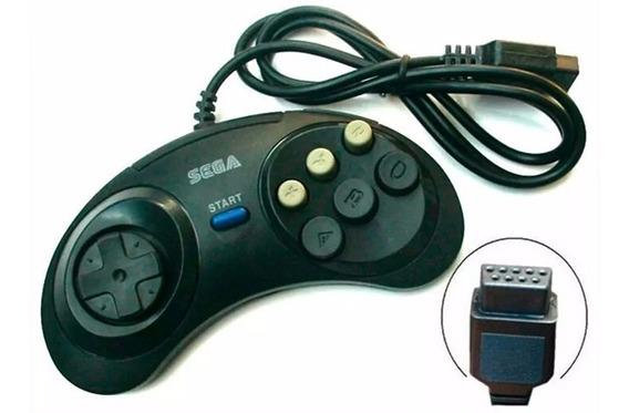 Kit 2 Controles Joysticks Mega Drive Master System Sega G25