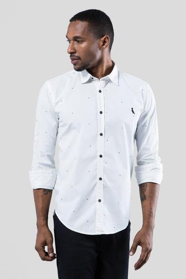 Camisa Pf Enxuto Cora Branco Reserva
