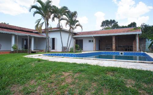 Casa Para Locação Em Condomínio Ao Lado Do Alphaville Campinas, Amplo Terreno, Estilo Chácara - Ca00411 - 33443303