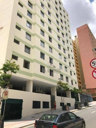 Imagem 1 de 15 de Apartamento Com 1 Dormitório À Venda, 50 M² Por R$ 135.000,00 - Centro - Campinas/sp - Ap18685