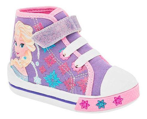 Sandak Sneaker Casual Sint Bota Lila Niña Frozen Bta33909