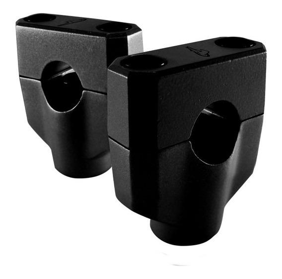 Adaptador / Riser Baixo Anker Guidão Oxxy 31,75mm 31mm Preto