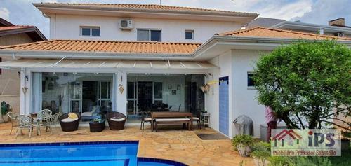 Sobrado À Venda, 390 M² Por R$ 2.200.000,00 - Condomínio Residencial Barão Do Café - Campinas/sp - So0555