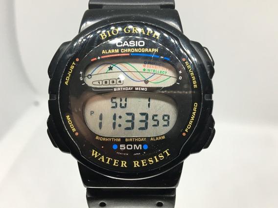 Reloj Casio Bh-100w Modulo 946 Biograph Para Coleccionistas