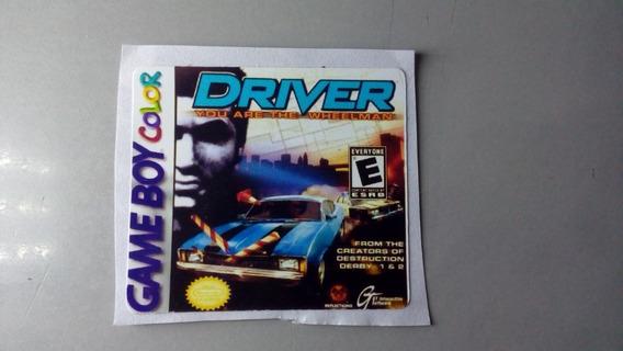 Label Driver Para Game Boy