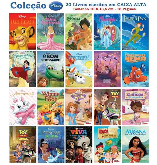 Coleção Disney - 20 Livros Ricamente Ilustrados - 10x15,5cm