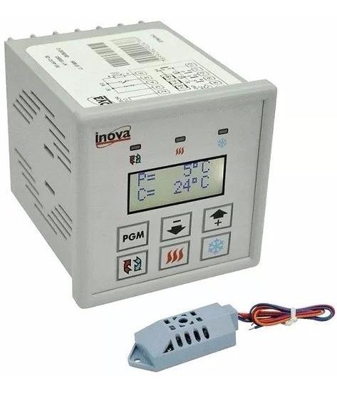 Controlador Tempo Temperatura Inv-54109 Climática C/ Umidade