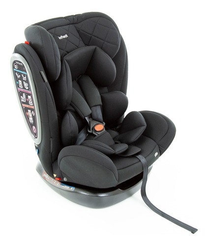 Cadeirinha De Carro Infanti Vita De 0 A 36 Kg Black Strong