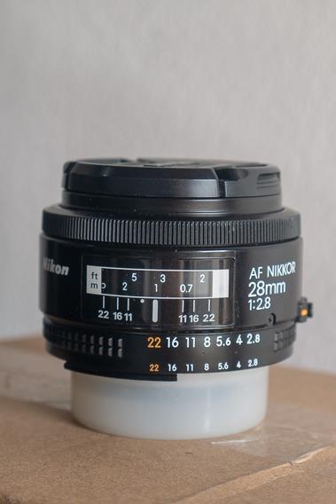 Nikon 28mm 2.8 Japonesa (r$ 1200 À Vista)