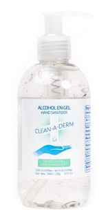 Alcohol En Gel Sanitizante 200ml Clean-a-derm
