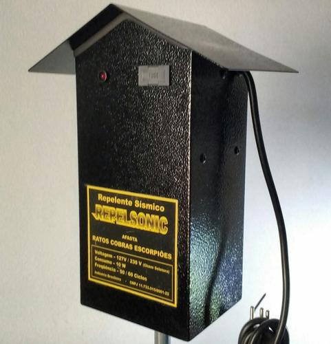 Repelente Ratos Cobras Escorpiões (1000m²) - Frete Grátis