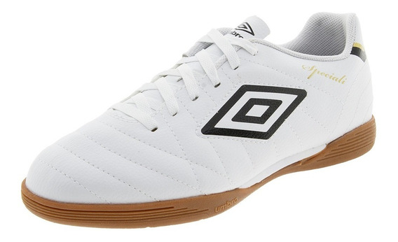 Chuteira Masculina Speciali Club Branco/preto Umbro - 0f7205