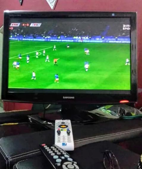 Televisor Samsung Lcd 26 Pulg. Pantalla Crystalview Full Hd
