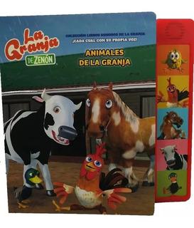Animales De La Granja De Zenon Libro Con Sonido Entrega 1