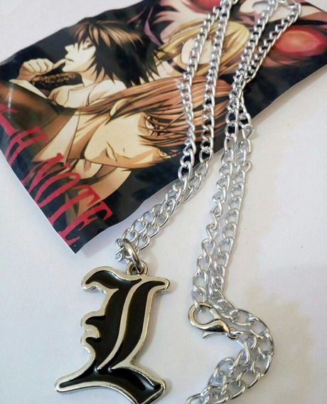 Colar Anime Death Note Personagem L