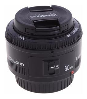 Lente Yongnuo Yn50 50mm Af F/1.8 Para Canon
