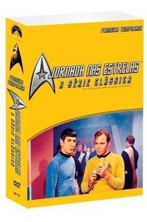 Box Dvd A Jornada Nas Estrela Série Clássica Primeira 1 Temp