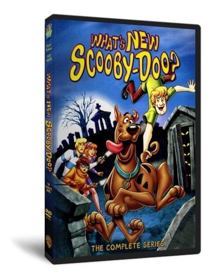 Dvd O Que Há De Novo Scooby Doo - 1ª 2ª 3ª Temp - Completo