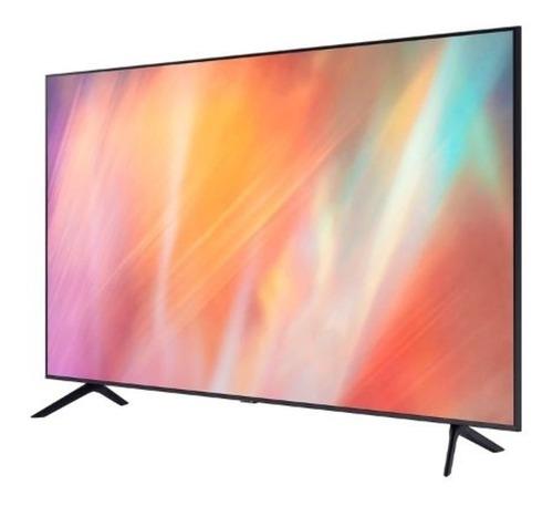 Imagen 1 de 1 de Televisor Samsung 55au7000 Smart Tv 4k 55 PuLG 2021 Delgado
