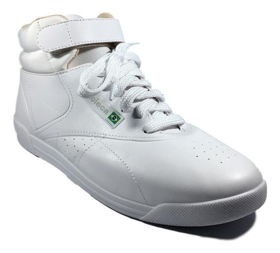Tênis Feminino Botinha Moleca Branco 5442.101 Conforto