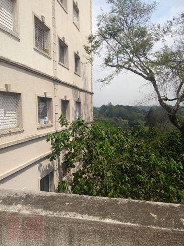Apartamento Com 2 Dormitórios À Venda, 45 M² Por R$ 200.000 - Jardim Marilu - Carapicuíba/sp - Ap0536