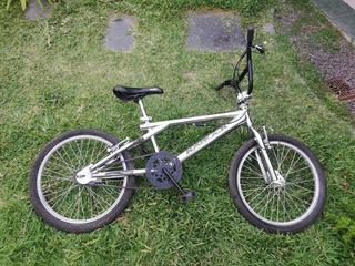 Bicicleta Rodado 20 Cromada Freestyle