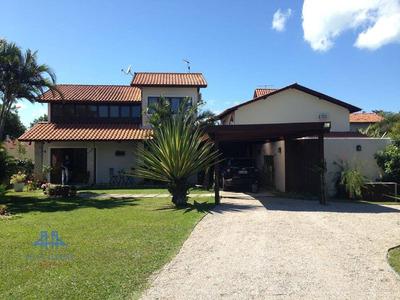 Casa Com 3 Dormitórios Para Alugar, 220 M² Por R$ 4.000/mês - Campeche - Florianópolis/sc - Ca0566