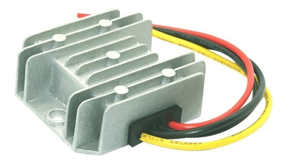Transformador Elevador Convertidor 12v A 24v 3a - Enertik