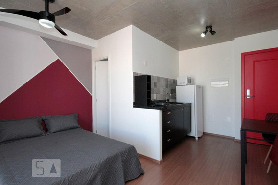 Apartamento Para Aluguel - Santa Cecília, 1 Quarto, 28 - 893097402