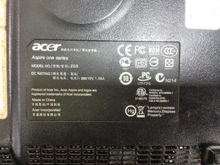 Tarjeta De Red Inalámbrica Para Acer Aspire One Zg5