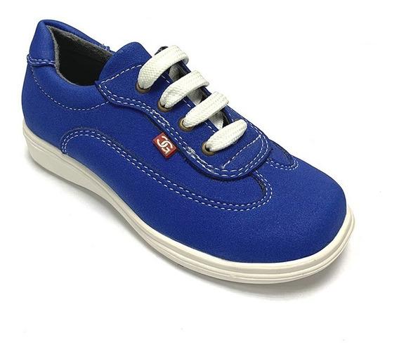 Zapatos Casuales Gigi Cavani Niño Azul Gc 1072 Corpez 26