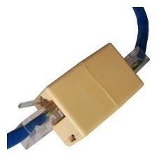10 Adaptador Conector Emenda Rj45 Femea X Femea Cabo De Rede